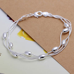 Silver plated Fine Fashion Bracelet for Women