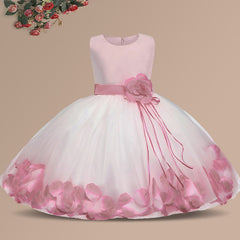 Ai Meng Birthday/Party Dress Gown for Baby Girl
