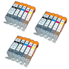 15PK Compatible Ink  For Canon Printer Pixma Cartridge PGI-650 CLI-651