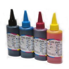 Colorful Compatible 100ML  Refill Ink for Canon, HP, Epson, Samsung, Lexmark, Dell 4 pcs