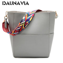 Elegant Pu Bucket Shoulder bag for Women