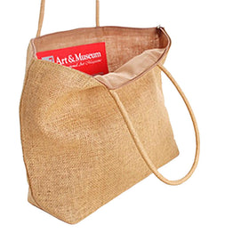 Knitted Straw Summer Beach Shoulder Bag for Women