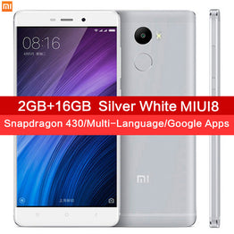 "Xiaomi Redmi 4 2GB RAM 16GB ROM Snapdragon 430 4100mAh Battery Fingerprint ID 5.0"" 13MP"