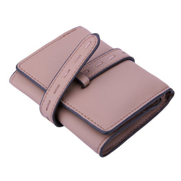 MOJOYCE Solid Vintage High Quality PU Leather Women's Wallets