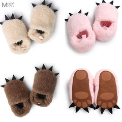 Snowsuits Fleece Warm Baby Shoes