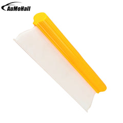 Car Care Scraper Silicone Blade Auto Window Cleaner Yellow 14 Inch