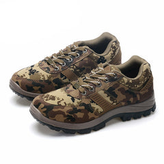 Camouflage Non-slip Army Walking Shoes for Men