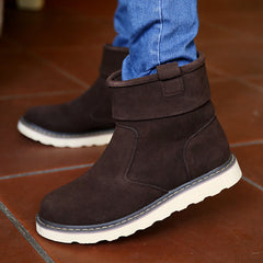 Fashion Winter Fur Ankle Snow Boots for Men