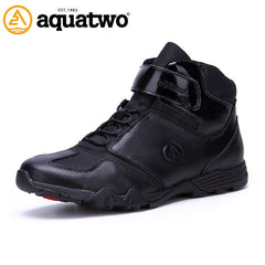High Quality Fashion AQUA TWO Riding Boots Shoes For Men