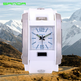New SANDA Digital LED Casual Waterproof Outdoor Sports Watch for Women