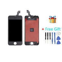 3 in 1 Pack for iPhone 5C (LCD + Frame + Touch Pad + Free Gift ) Black