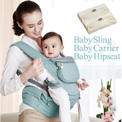 Breathable Baby CarrierSling Backpack Hip seat Wrap Baby