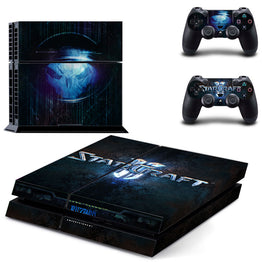 Starcraft Protective Sticker For Sony PS4 Console