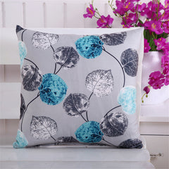 New Fashion 45*45cm Leaves Printed Pillow Cover Case / Sofa Seat Cushion Cover