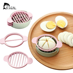 Multifunction Wheat Straw Egg Slicer /Divider Kitchen Essential Cooking Tools