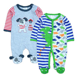 100% Cotton Baby Boys Rompers