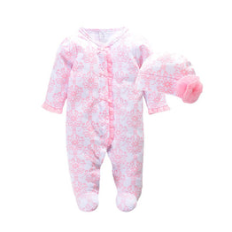 New Born Baby Girl Clothes Set Body Rompers