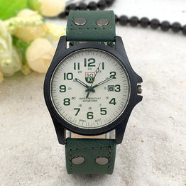 Military Belt Frosted outdoor sports Unisex Watch