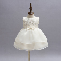 Hot Baby Girl Tulle Birthday Party Dress