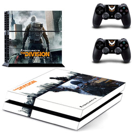 Tom Clancys The Division Skin Decal Sticker For PS4 Console
