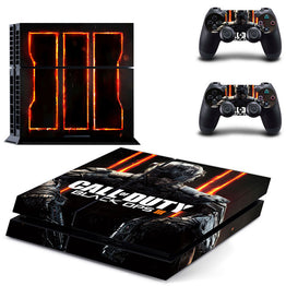 Call of Duty Skin Vinyl Skins Sticker for Sony PS4 Console