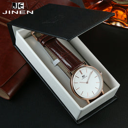 JINEN Classic Leisure High-quality Waterproof Quartz Watch for Women