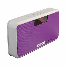 Portable Wireless Bluetooth Stereo Speaker Power Bank FM Radio