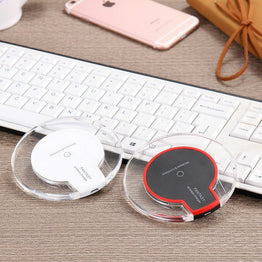 Universal Qi Wireless Charger Charging Pad Mobile for Samsung