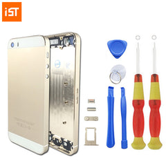IST Original Phone Housing Battery Cover For iPhone 5 5S 5G with Free Tools