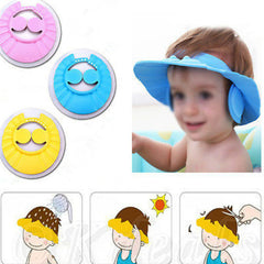 Adjustable Soft Waterproof Shield Shampoo Shower Bath for Kids