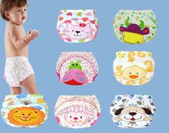 1 pc Baby Waterproof Reusable Cotton Children's Diaper