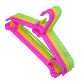 10pcs/Lot Non-Slip Plastic Hangers for Kids