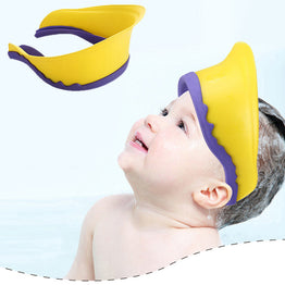 Adjustable Shampoo Protect Shower Bat Hat