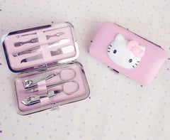 Hello Kitty Nail tools Stainless Steel Set