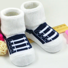 Fashion Cute Shoe lacing pattern Socks
