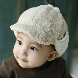 Cotton and polyester tops 2016 new extravagant cap for Kids Beanies Hat
