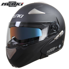Motorcycle Full Face Helmet Motorbike Street Bike Racing Modular Flip Up Dual Visor Sun Shield