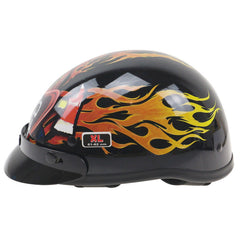 Harley Style Motorbike Helmet US style DOT approved Retro Helmet Safety Bike helmet