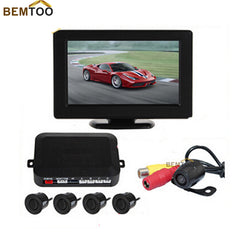 BEMTOO Parking Sensor 4.3 Inch Digital TFT LCD Car  Monitor