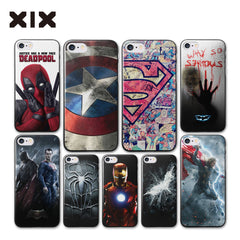 Super heroes hard cover iPhone 7 case 4 4S 5 5S 5C 6 6S 7 Plus