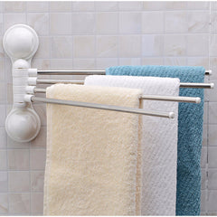Stainless Steel Rotating Towel Bar Holder