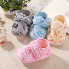 Soft bottom handmade Comfortable Baby shoes for 0-12 month