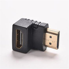 HDMI 90 Degree Right Angle Adapter Male to Female for 1080p 3D TV LCD HDTV