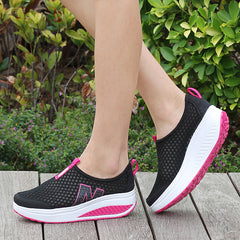 Summer Breathable Height Increasing Outdoor Shoes