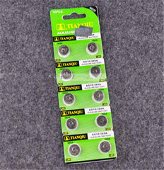 10 Pcs 1.55V LR54 LR1130 L1131 Button Cell Coin 389 189 mini AG10 Alkaline Batteries