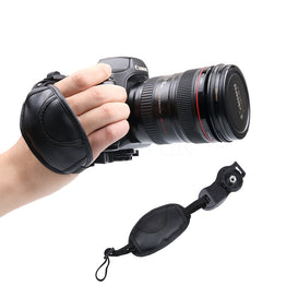 Camera Leather Grip Wrist Hand Strap Grip For NIKON D7000 D5200 D5100 D5000 D3200
