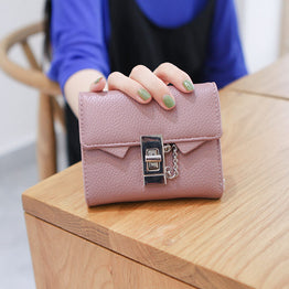 PU Leather Women Wallet 4 Color Purse