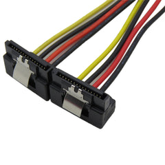 4pin to 15pin SATA with clip power cable