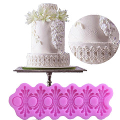 Silicone Moulds/ Decorative Strip for Cakes European-style