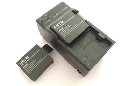Dual charger + 2PCS SJCAM battery, for SJCAM sj4000 sj5000 sj5000